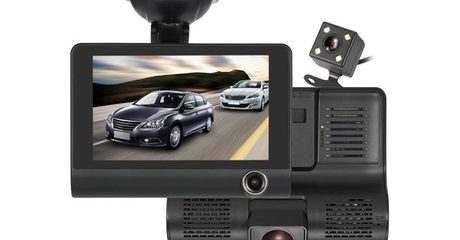 Three-Way HD Dash Cam