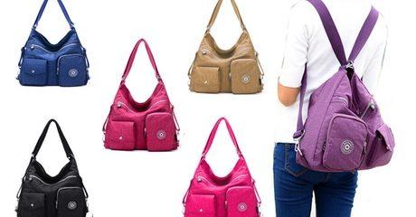 Two-in-One Waterproof Bag