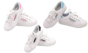 Women's Crystal-Detail Sneakers
