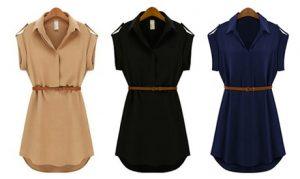 Women's Shirt Dress