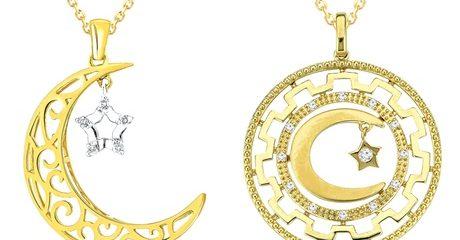 18ct Gold Ramadan Necklaces
