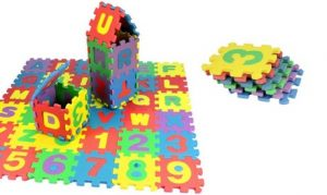 36-Piece Large Puzzle Playmat