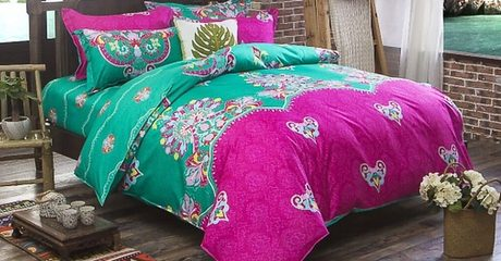 6-Piece King Size Bedsheet Set