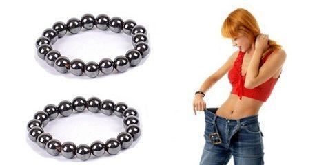 Black Hematite Magnetic Bracelet