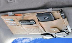 Car Sun Visor Storage Organiser
