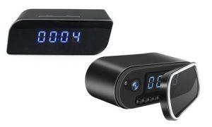 Clock WiFi Camera