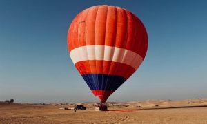 Hot Air Balloon Experience: Child (AED 720)