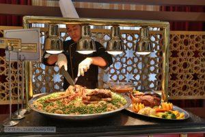 Iftar Buffet at Abu Dhabi Country Club's Silver Ballroom