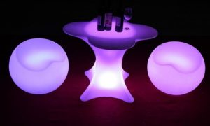 LED Light Chairs