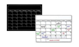 Magnetic Calendar Planner