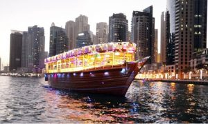 Marina Cruise with Food: Child (AED 115) or Adult (AED 135)