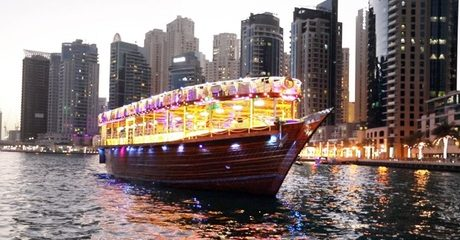 Marina or Creek Dhow Cruise with Dinner
