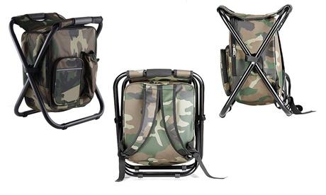 Outdoor Folding Cooler Chair