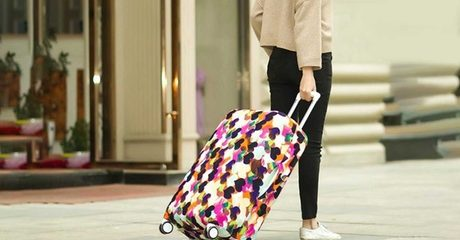 Printed Luggage Covers