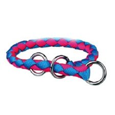 Trixie - Neon Blue/Pink Cavo Collar (L/XL)