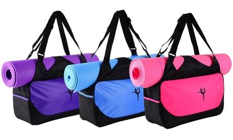 Water-Resistant Yoga Bag