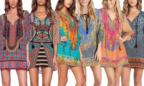 Women's Kaftan Beach Dress