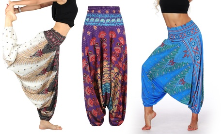 Women's Printed Harem Pants