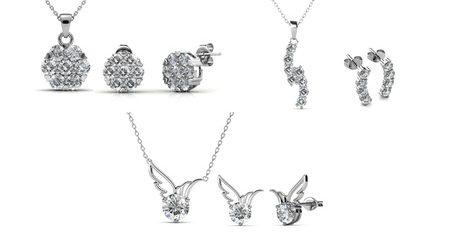 Crystal Sets by Destiny Jewellery