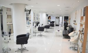 Customers can treat their looks to a cut and blow-dry