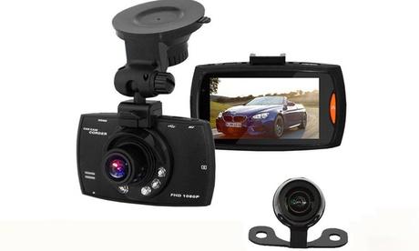 Full HD Dual Front Rear Dash Cam