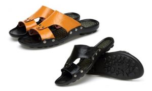 Men's PU Leather Slippers