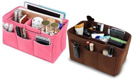 Multi-Pocket Bag Organizer