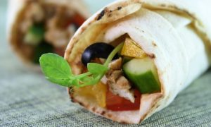 Shawarma Wrap or Sandwich at Shami Gourmet