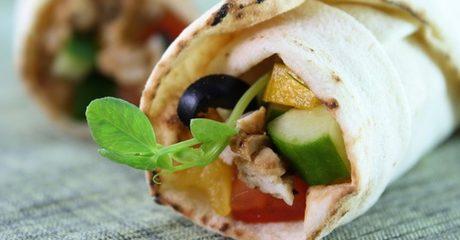 ShawarmaWrap or Sandwich at Shami Gourmet
