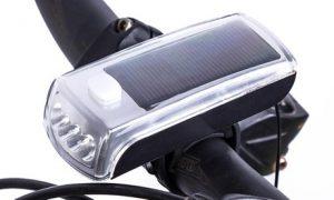 Solar LED Bicycle Headlight