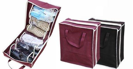 Travel Shoes Organiser Bag