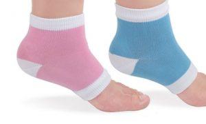 2 Sets of Heel Protection Gel Socks