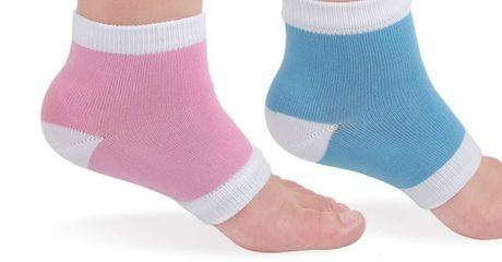 2 Sets of Heel Protection Gel Socks