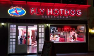 AED 50 to Spend at Fly Hot Dog