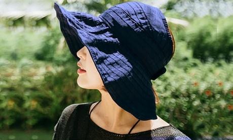 Women's Foldable Summer Hat