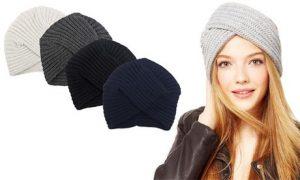 Women's Turban-Style Beanie