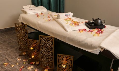 Customers can treat themselves to a one-hour full body spa treatment that can be accompanied by an optional mani-pedi