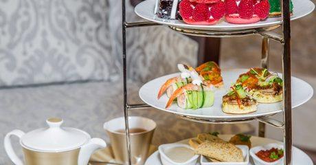 Afternoon Tea or Chocolate Fondue