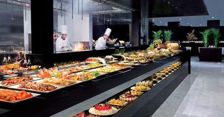 Seafood or Arabic Buffet