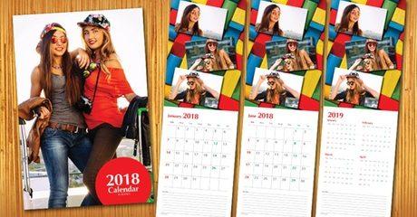 2018 Personalised Calendar