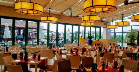 5* Lunch Buffet with Soft Drink