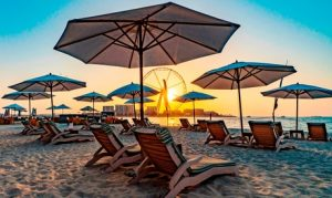 Beach Access at 5* Hilton Dubai Jumeirah