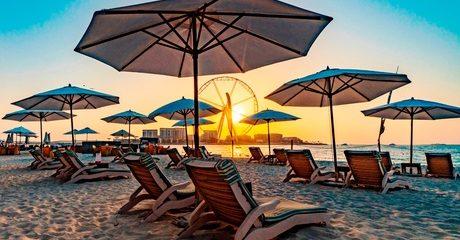 Beach Access at 5* Hilton Dubai Jumeirah