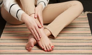 Present fingernails and toenails with a session of manicure and pedicure that can be paired with foot