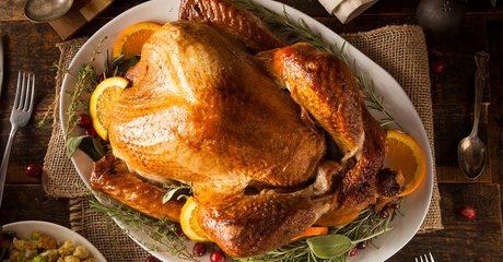 Four-Kilogram Turkey with Sides