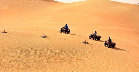 Half-Day Desert Safari with Optional Quad Biking