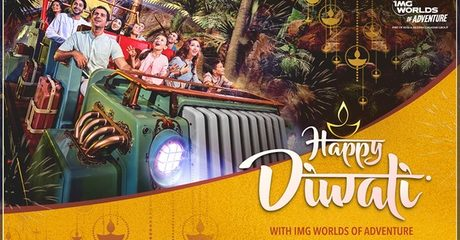 IMG Worlds of Adventure: Two Kids (AED 255) or Adults (AED 285)