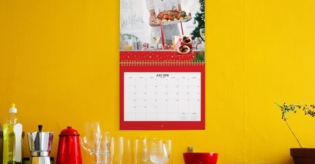 Customised Wall Calendar