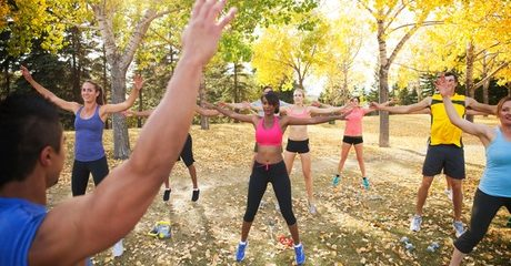Eight Outdoor Boot Camp Sessions