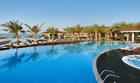 Pool & Beach access at 5* Intercontinental Abu Dhabi